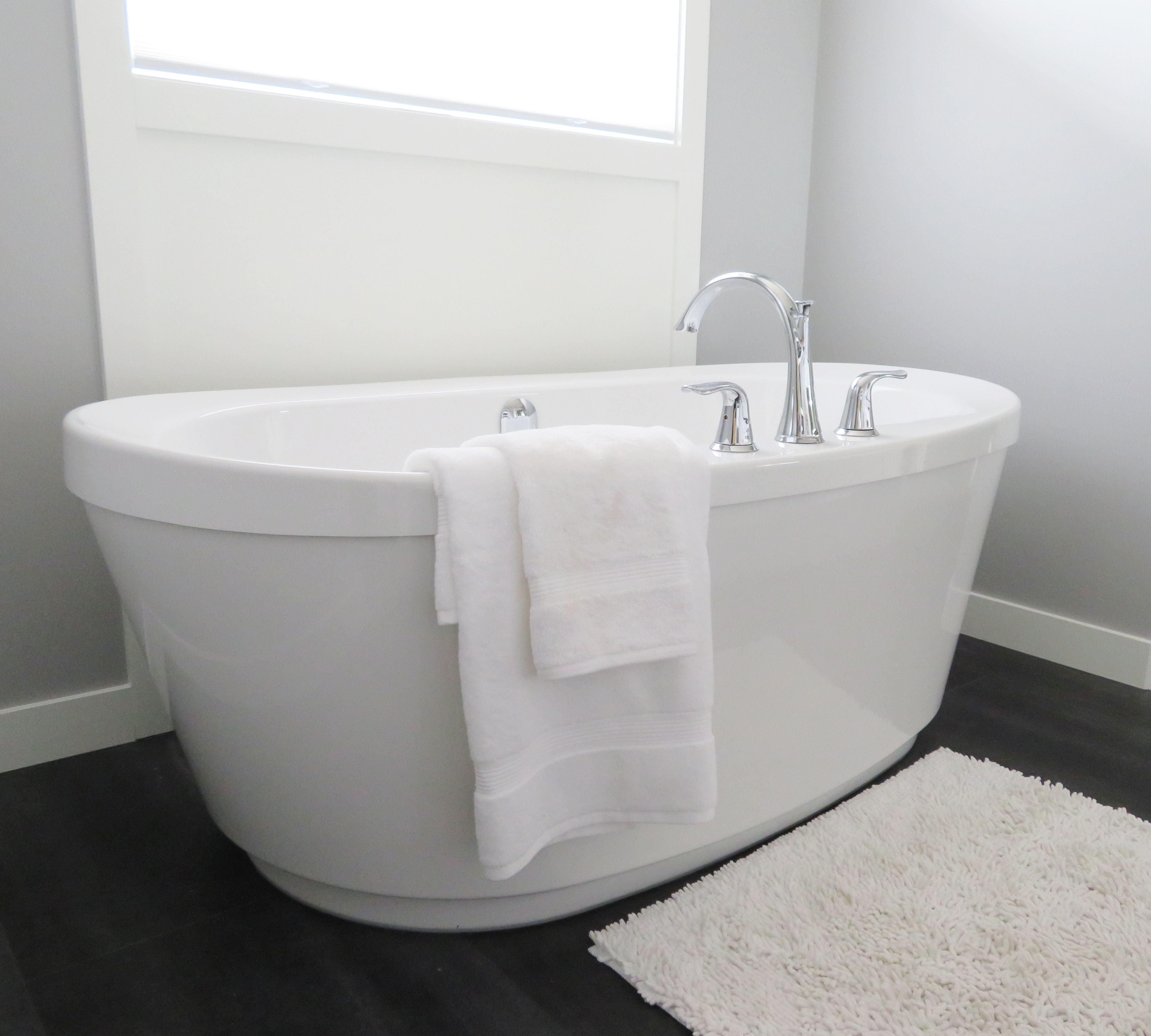Ett snyggt badkar
